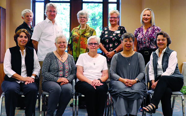 PAB board members in September 2018