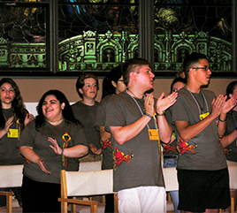 Students from Dominican High Schools Gather in Adrian for Preaching Conference