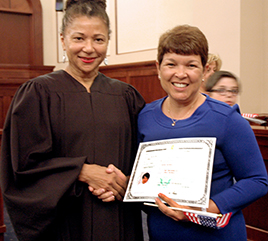 Sister from Dominican Republic Becomes U.S. Citizen