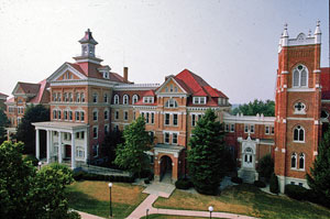 birds-eye view of Motherhouse