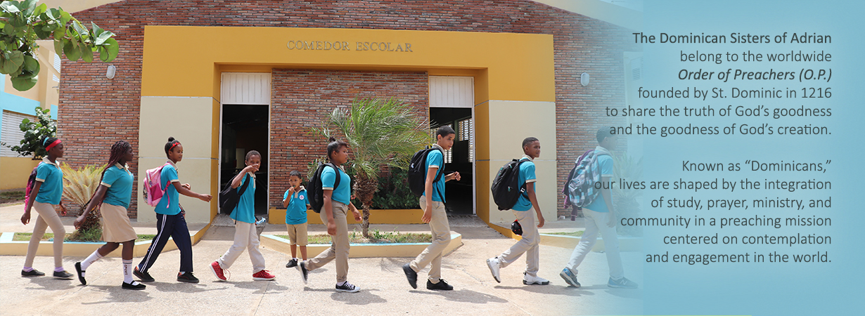 school children in DR