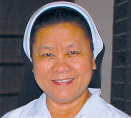 Sister Bless Colasito Serves in Counseling, Family Ministry