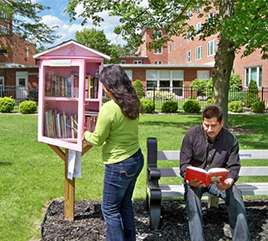 The New Little Free Library Shares Fruits of Literacy