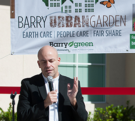 Barry University Launches Urban Garden