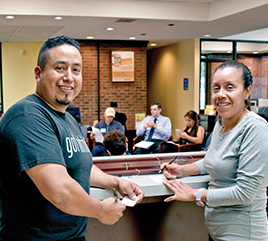 Latino Credit Union Offers Financial Services to Residents