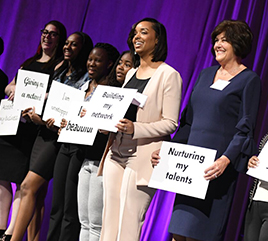 Michigan Women Forward Brings Message: Women Do Help Other Women