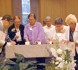 Five Women Accepted as Adrian Dominican Associates