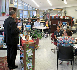 Blessing Marks 20th Anniversary of Aquinas Literacy Center