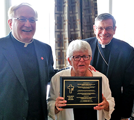 Sister Carmen Álvarez, OP, Receives Golden Rule Award