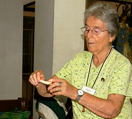 Theology Library in Philippines Named in Honor of Sister Marcine Klemm