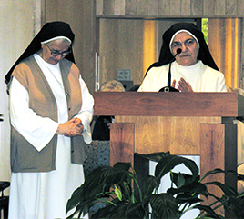 Former Prioresses of Dominican Sisters of Iraq Give Update and Thank Adrian Dominican Sisters