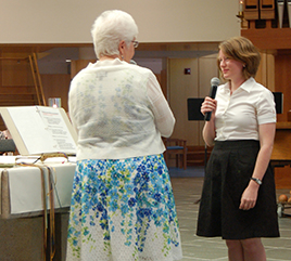 Sister Katherine Frazier Received into Novitiate