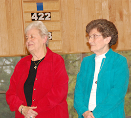 Chapter Prioress and Vicaress Begin Ministry with Ritual and Blessing