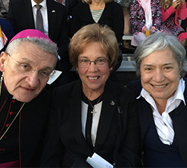 Local Paper Recounts Sister Donna's Experience of Pope's Visit