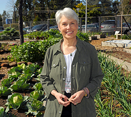 Sister Mary Ellen's Garden Provides Peace as Well as Organic Food