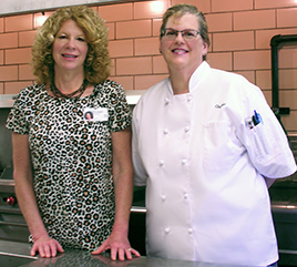 Maureen Brooker, Motherhouse Chef, Speaks of Creativity in Cooking