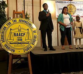 NAACP of Lenawee County Presents Humanitarian Award to Congregation