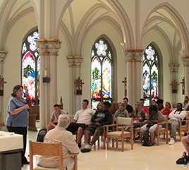 Siena Heights University Students Learn about Dominican Life at Motherhouse