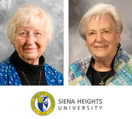 Two Adrian Dominican Sisters Recognized During Siena Heights University Homecoming