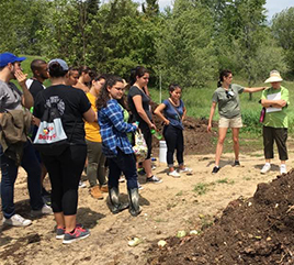 Barry and Siena Heights Students Immerse Themselves in Permaculture