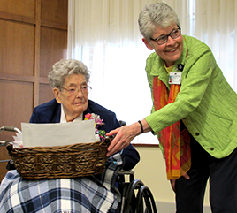 Sister Ann Seraphim Schenk Reaches 100 Year Mark