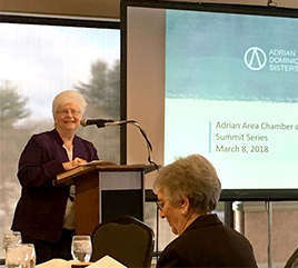 Adrian Dominican Sisters Reach Out to Local Communities During National Catholic Sisters Week