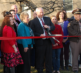 Catholic Charities Cuts Ribbon for New Child Advocacy Center Facility in Adrian