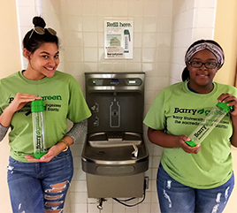 Hydration Stations Help Reduce Plastic Waste at Barry University