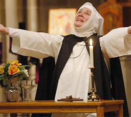 Sister Nancy Murray, OP, Continues to Bring St. Catherine of Siena to Life