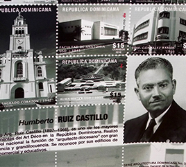 Dominican Republic Issues Stamps to Honor Architect and Father of Two Adrian Dominican Sisters