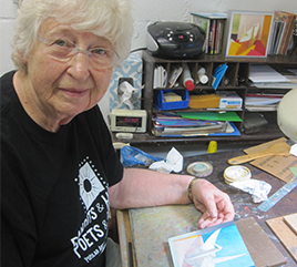 Daily Telegram Article Tells the Story of Sister Barbara Cervenka's 1,000 Cranes