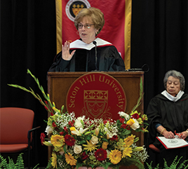 Sister Donna Markham, OP, PhD, Delivers Commencement Address at Seton Hill