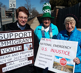 Adrian Dominican Sisters in Chicago Bear Public Witness for Immigrants