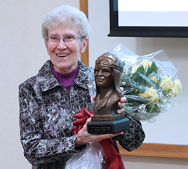 Sister Carleen Maly, OP, Awarded for Pioneering Work at Literacy Center