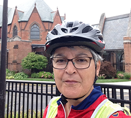 "Sister Marie Michael ""Finishes the Race"": The Baroudeur 50-Mile Bike Ride for Wayne State"