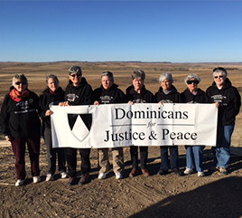 Eight Dominican Sisters Offer Presence at Standing Rock